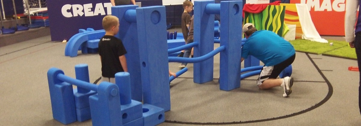 April 2015 Pop-Up Play Lab at Westview Elementary in Olathe, KS