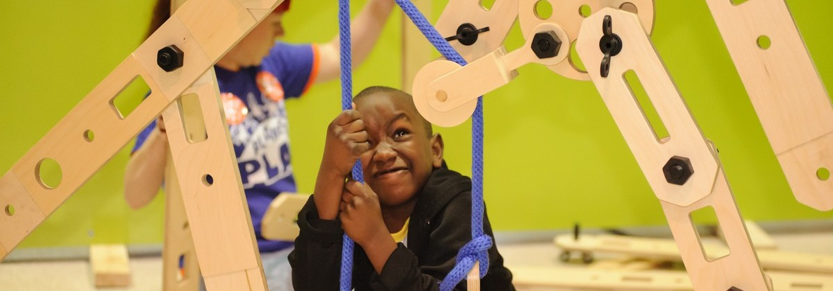 March 2015 Pop-Up Play Lab at Linwood YMCA in Kansas City, MO